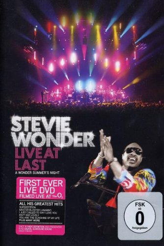 Stevie Wonder - Live at Last (Stevie Wonder-live-cd)