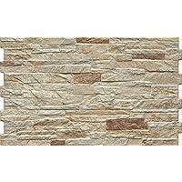 Wandfliese Dekor Nigella natura Bricks beige-braun im Format 30x50cm Wandverblender Fliesen in Steinoptik (Muster ab 10x10cm)