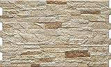 Diese Wandfliese Dekor Nigella natura Bricks beige-braun im Format 30x50cm zaubern in jeden Raum ein modernes und exklusives Ambiente zum Wohlfühlen (1m²)