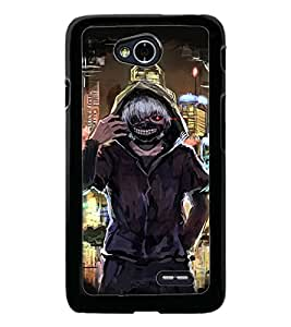 PrintDhaba Funny Image D-3828 Back Case Cover for LG L90 (Multi-Coloured)