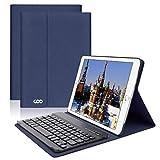 Clavier Bluetooth iPad Coque 9.7,AZERTY français, Housse Clavier pour iPad...