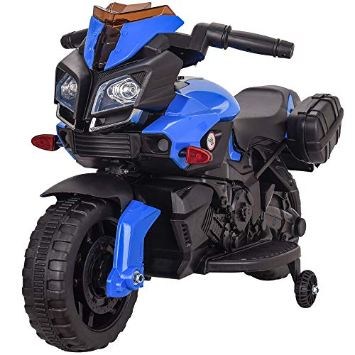 Rip-X 'My First' Kids Motorbike Electric 6V Ride On Toy - Suitable For 3 to 5 Years - Choice of Colours (Blue)