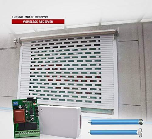 RPS Rele inalambrico Radio Frecuencia y Wifi integrado,3 CH, Entrada y Salida 220V, Incluye 2 Mando Radio Frecuencia, Especial Garajes, Persianas, iluminación,etc