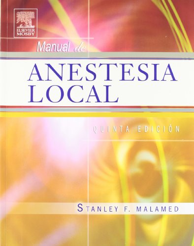 Manual de anestesia local por S. Malamed