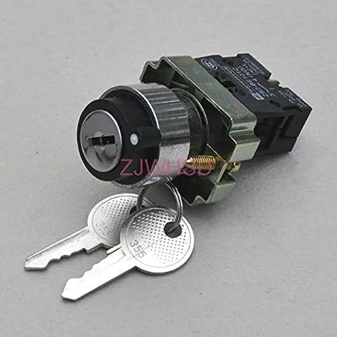 On/Off 2(due) posizione selettore serratura a chiave Interruttore Rotativo normalmente aperto contatto [hrus]