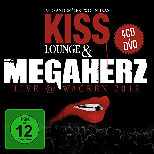 Kiss Lounge & Megaherz live @ Wacken 2012. 4CD+DVD