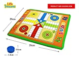 #8: Kids Mandi Roll-Out Classic Ludo Board Game For Kids-Size 70X 54 Cms
