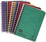Europa Notemaker Réf 482/1138 Cahier Reliure intégrale Ligné 80 g/m² 120 pages A6 Couleurs assorties Lot de 10 (Import Royaume Uni)