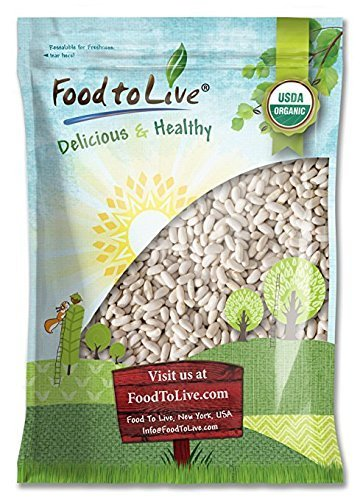 Bio Cannellini bohnen, 5 Pfund - roh, getrocknet, Nicht-GVO, koscher, weiße Kidneybohnen, Masse, Produkt der USA