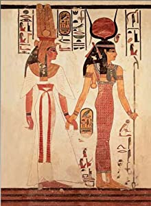 International Publishing 0801 N15857b - Nefertari preceded by Goddess ISIS, clásica Puzzle