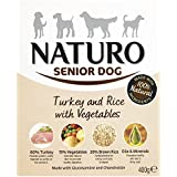 Naturo Wet Dog Food Senior Turkey and Rice 400 g(pack of 10)