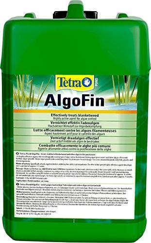 Tetra Pond AlgoFin (zur effektiven und sicheren Vernichtung von hartnäckigen Fadenalgen und anderen Algen im Gartenteich), 3 Liter Flasche - 3