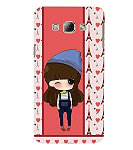 PRINTSWAG CARTOON PATTERN Designer Back Cover Case for SAMSUNG GALAXY A8