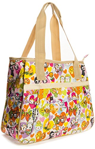 Big Handbag Shop ,  Unisex-Erwachsene Tasche Tote 865 - Spring Flowers