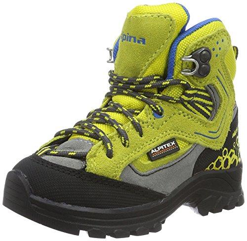 alpina Unisex-Kinder 680356 Trekking-& Wanderstiefel, Gelb (Gelb), 30 EU