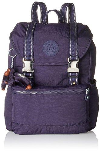 Kipling Experience S, Mochilas Mujer, Violett (Blue Purple C), 26x32x0.1 cm (B x H T)