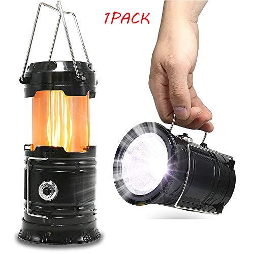 WZJYD LED-Campingleuchte, Batteriebetriebenes Außenzeltlicht - Ausziehbare Hand- Oder Pendelflammenleuchte Mit Superheller Taschenlampe Für Camping/Wandern -