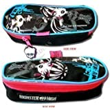 Kids Childrens Girls Monster High Coffin Pens Pencil Case School Stationary Gift