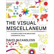 THE VISUAL MISCELLANEUM: A COLORFUL GUIDE TO THE WORLD'S MOST CONSEQUENTIAL TRIVIA BY McCandless, David(Author)11-2009( Paperback )