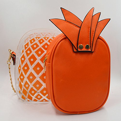 Millya, Borsa a tracolla donna, orange (arancione) - bb-01183-03C orange
