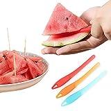 SwirlColor Sandía y melón plástico máquina de cortar del cuchillo del cortador de Peeler, multi color al azar Enviar