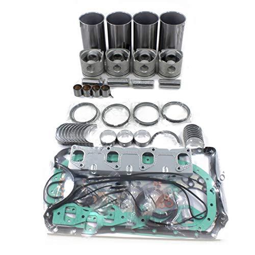 V1505 V1505-E Komplettes Motor-Überholungs-Kit - SINOCMP Bagger Teile für Kubota B3200HSD, 3 Monate Garantie (Kubota-motor Teile)