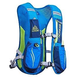 AONIJIE Running Zaini Leggeri Funzionali Hydration Pack Vest 5,5 Litri