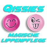 Die Qissies von pureQ I Lippenpflege und Lippenfarbe in einer Kugel I Die Smiley Kugel in 4 aufregenden Farben I 2 Kugeln (Twink & Beam)