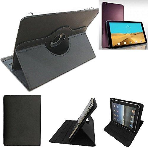K-S-Trade LG Electronics G Pad 2 10.1 Schutz Hülle 360° Tablet Case Schutzhülle Flip Cover für LG Electronics G Pad 2 10.1, schwarz. Tablet Hülle drehbar Standfunktion Ultra Slim Boo