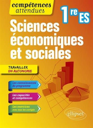 Sciences économiques et sociales - Première ES par Isabelle Koquely
