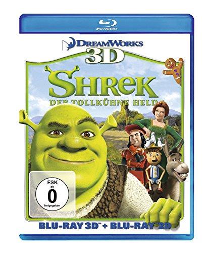 Shrek - Der tollkühne Held (+ Blu-ray 3D) [Blu-ray]