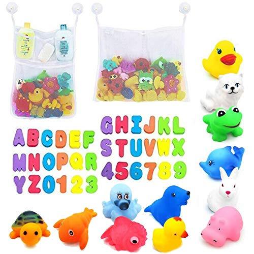 2 x Mesh Baby Bath Toys Storage + 4 Ultra Ultra Hooks
