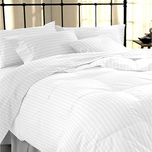 Printed Duvet Cover Set King Size Grey & Ivory Branch & Plum Pattern - 3 pics (1 Duvet Cover with Zipper Closure & Conner Ties + 2 Pillowcases) - Ultra Soft Hypoallergenic Microfiber Quilt Cover Sets xcm by Bedsure.