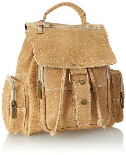 david-king-co-mid-size-top-handle-sac-a-dos-distressed-tan-one-size