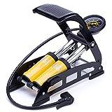 MEETLOCKS Bicycle Pump Double Pistons Bike Foot Pumps,160PSI - Best Reviews Guide