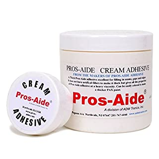Pros-Aide® Cream Adhesive 6 Oz. Jar - Official Product of ADM tronics by Pros-aide