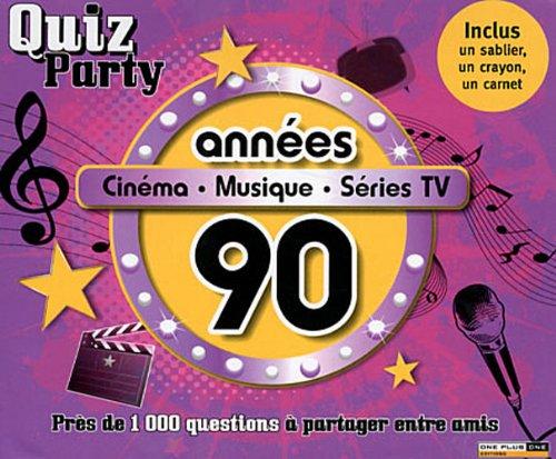 Années 90 : Cinéma, musique, séries TV (1Jeu) par Christophe Bourdon