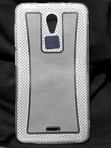 Iway Ultra Thin Transparent Anti-fingerprint clear Silicon Gel Back Case for Micromax Unite 2 A106