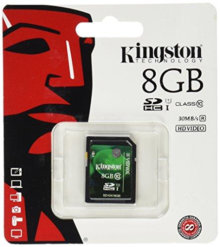 Kingston SD10V/8GB Class10 SDHC 8GB Speicherkarte