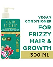 Nuray Naturals Vegan Hair Growth Keratin Conditioner For Frizzy Hair, Free From Parabens, Silicones & No Mineral Oils, 300 ml…