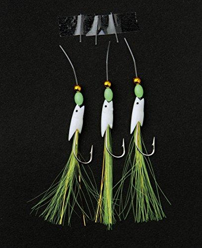 Nick and Ben Norwegersystem Vorfach 84 cm Länge grün