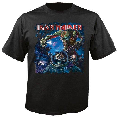 Iron Maiden T-Shirt Final Frontier Tour Germany Flag in Größe XL