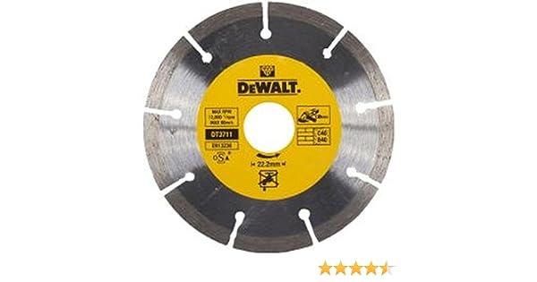 125mm Dewalt DT3711-QZ DT3711-QZ-Disco de Diamante 125x22.2mm Argent