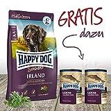 Happy Dog Irland ❤️ Premium Hundefutter 12,5 kg + Gratis 1 x 800 g Dosen Lachs pur. EIN tolles Gefühl seinem Hund was Gutes zu tun.
