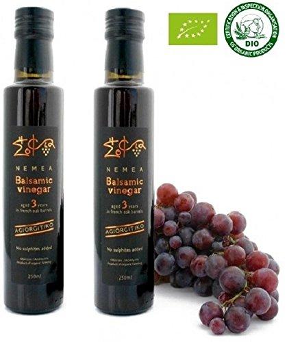 Vinaigre Balsamique Neméa (Corynthe) 0,500 L. Bio . 3 ans. 2 x 0,250L