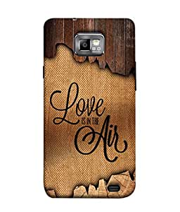 Samsung Galaxy S2 I9100, Samsung I9100 Galaxy S Ii Back Cover Love Is In The Air Design From FUSON