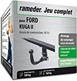 Rameder Attelage rotule démontable pour Ford KUGA II + Faisceau 13 Broches...