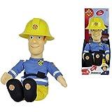 Sprechender Feuerwehrmann Sam 30 cm groß, spricht 7 Sätze - Spiel Figur Puppe Funktionspuppe