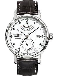 Zeppelin Watches Herren-Armbanduhr XL Analog Automatik Leder 7560-1