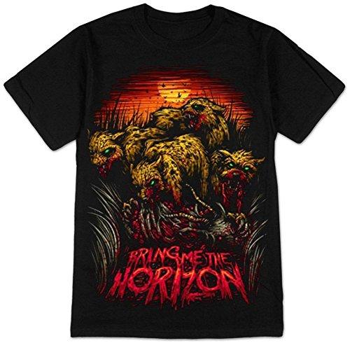 Bring Me The Horizon - - Cheetah Herren T-Shirt in Schwarz Black